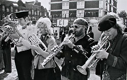 Mike Westbrook Brass Band, early days